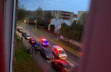 Incidentas Partizanų gatvėje: policijai nepaklusęs 19-metis prisidarė teisinių problemų <span style=color:red;>(atnaujinta)</span>