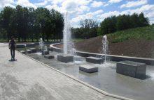 Pamatykite, kaip atrodys Draugystės parko fontanas <span style=color:red;>(nuotraukos)</span>